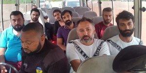 Nijerya'da serbest bırakılan Türk gemiciler Abuja Büyükelçiliğinde