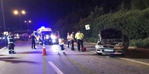 Anadolu Otoyolu'nda zincirleme kaza: 3 ölü, 3 yaralı