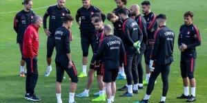 A Milli Futbol Takımı'nda Fransa maçı hazırlıkları başladı