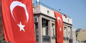 Mardin Türk bayraklarıyla ala boyandı!