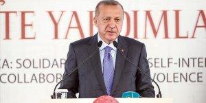 Cumhurbaşkanı Erdoğan: Aramızdaki yapay sınırlar bizim ufkumuzu belirleyemez