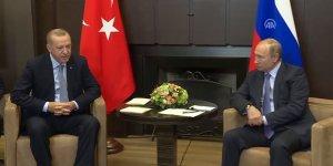 Cumhurbaşkanı Erdoğan - Putin görüşmesi