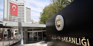Dışişleri Bakanlığı: AP'nin Barış Pınarı Harekatı hakkında benimsediği tutumu reddediyoruz