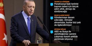 Cumhurbaşkanı Erdoğan: ABD ziyaretinde öncelikli konumuz terörle mücadele