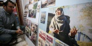 Babasının deprem fotoğraflarından oluşan arşivi oğluna emanet