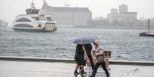 İstanbul'da sağanak etkili oluyor..