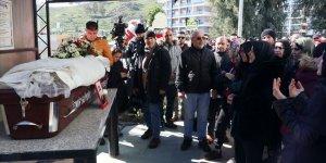 Uçak kazasında hayatını kaybeden Songül Bozkurt'un cenazesi defnedildi