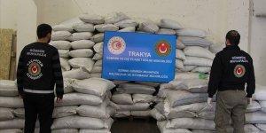 Pekcan: Kapıkule'de bir operasyonda 2 ton 70 kilogram esrar ele geçirildi