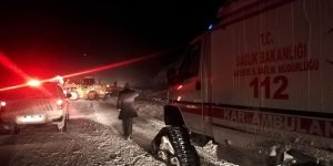 Kayseri - Kahramanmaraş kara yoluna çığ düştü!