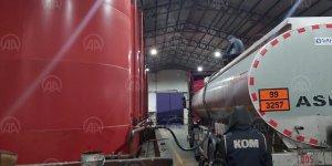Kayseri'de 470 ton kaçak akaryakıt ele geçirildi!