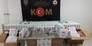 Ankara'da sahte dezenfektan üreten çeteye operasyon