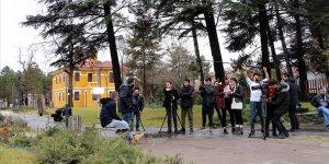 Genç sinemacılar Çankırı'yı 'plato' olarak kullanıyor