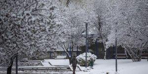 Başkent mart ayında beyaza büründü!