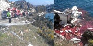 Mersin'de domates yüklü tır denize düştü: 1 ölü