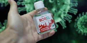 Bakan Dönmez: Yerli ve milli bor katkılı el dezenfektanı BOREL haftaya raflarda