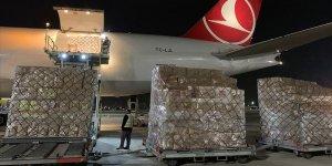 Türkiye'den Filistin'e Kovid-19 sürecinde tıbbi malzeme yardımı