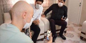 Kanser tedavisi gören Ayyüce'ye Alper Potuk sürprizi