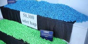 Adana'da tırda 50 bin 300 uyuşturucu hap ele geçirildi