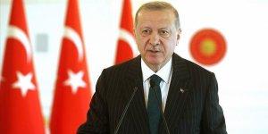 Erdoğan: Ülkemize karşı Doğu Akdeniz'de kurulmaya çalışılan oyunları ve tuzakları yerle bir ettik