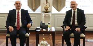 Soylu'dan Yargıtay ve Danıştay başkanlarına ziyaret