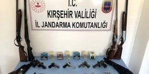 Kırşehir'de silah ticareti operasyonu: 6 Gözaltı