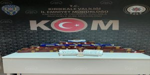 'Kırıkkale'de kaçakçılıkla mücadele'