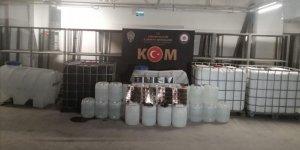 Ankara merkezli 5 ilde sahte içki operasyonu: 17 GÖZALTI