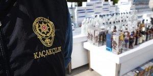 'Sahte içki operasyonlarında 6 günde 60 tutuklama'
