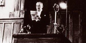 Cumhuriyet'in ilanı ve Atatürk'ün Cumhurbaşkanı unvanıyla ilk konuşması AA Arşivi ve TBMM kayıtlarında