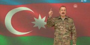 Aliyev: Kritik öneme sahip Şuşa kenti işgalden kurtarıldı!