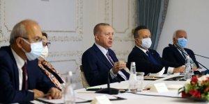 Cumhurbaşkanı Erdoğan TİM heyetini kabul etti!