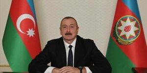 Azerbaycan Cumhurbaşkanı Aliyev: Düşmanı topraklarımızdan kovduk ve yeni bir gerçeklik yarattık
