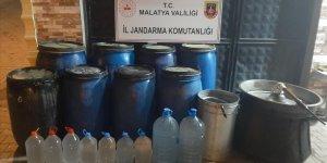 Malatya'da 2 ton sahte içki ele geçirildi!