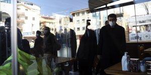 Başkent Ankara'da geniş kapsamlı Kovid-19 ile mücadele denetimi yapıldı