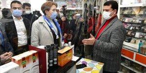 İYİ Parti Genel Başkanı Meral Akşener, Konya'da esnafı ziyaret etti!