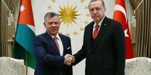 Cumhurbaşkanı Erdoğan ile Ürdün Kralı 2. Abdullah telefonla görüştü