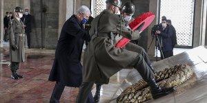 BM 75. Genel Kurul Başkanı Bozkır Anıtkabir'i ziyaret etti!