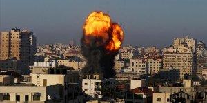 İsrail savaş uçakları Gazze'yi bombaladı: Şehit sayısı 139'a yükseldi!