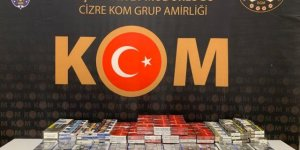 Şırnak'ta Kaçakçılık Operasyonları