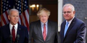 ABD, İngiltere ve Avustralya 'AUKUS' adı altında yeni bir güvenlik iş birliği kurdu