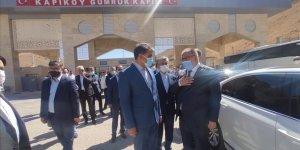 Kapıköy Sınır Kapısı'nın kapalı olan İran tarafı açıldı!