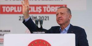 Erdoğan'dan Eskişehir toplu açılış töreninde flaş açıklamalar