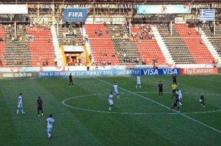 20 Yaş Altı Dünya Kupası başladı, taraftarın ilgisi az