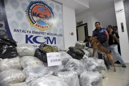 2012, Antalya'da uyuşturucu ile mücadele yılı oldu
