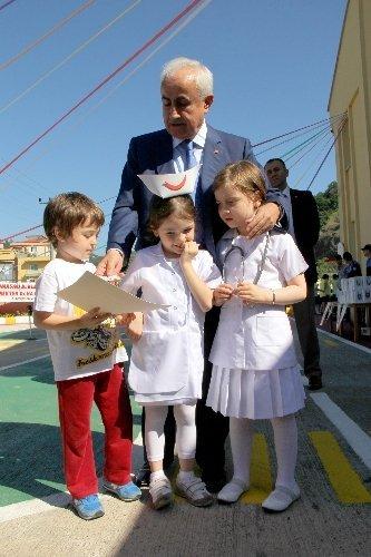 6 yaş altı 116 öğrenci ehliyetlerini aldı