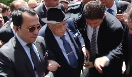 9. Cumhurbaşkanı Süleyman Demirel, İslamköy'e helikopterle geldi