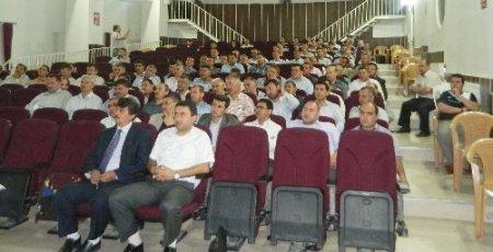 Acıpayam Müftülüğü 'Cami Projeleri' semineri düzenledi