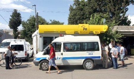 Adana'da bir PTT soygunu daha