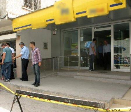 Adana'da PTT şubesi soyuldu