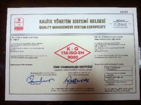Adıyaman KYK öğrenci yurdu ISO kalite belgesi aldı